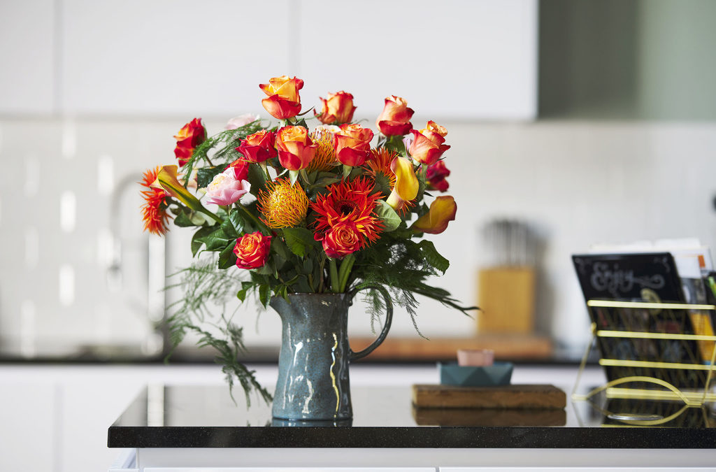 De roos staat in januari op de Bloemenagenda